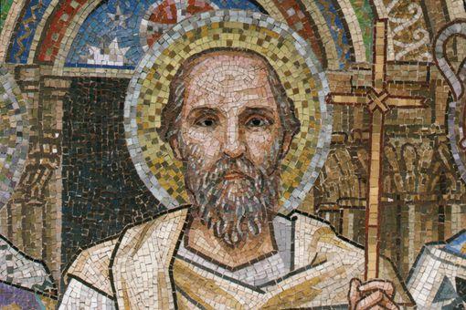 Saint John Chrysostom from Mosaic