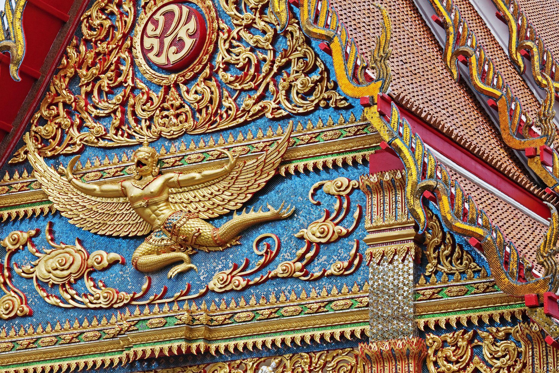 Garuda on Temple