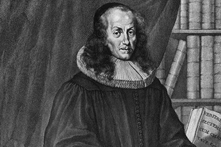 Portrait of Philipp Jakob Spener, leader of German Pietism