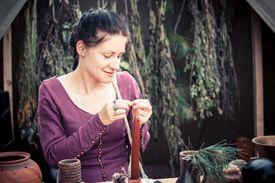 Healer with Herbs