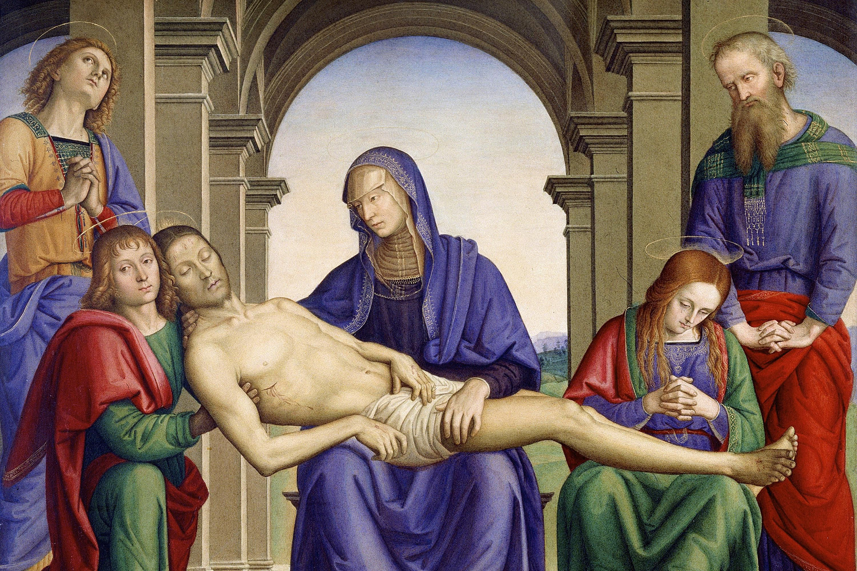 Pieta Perugino.