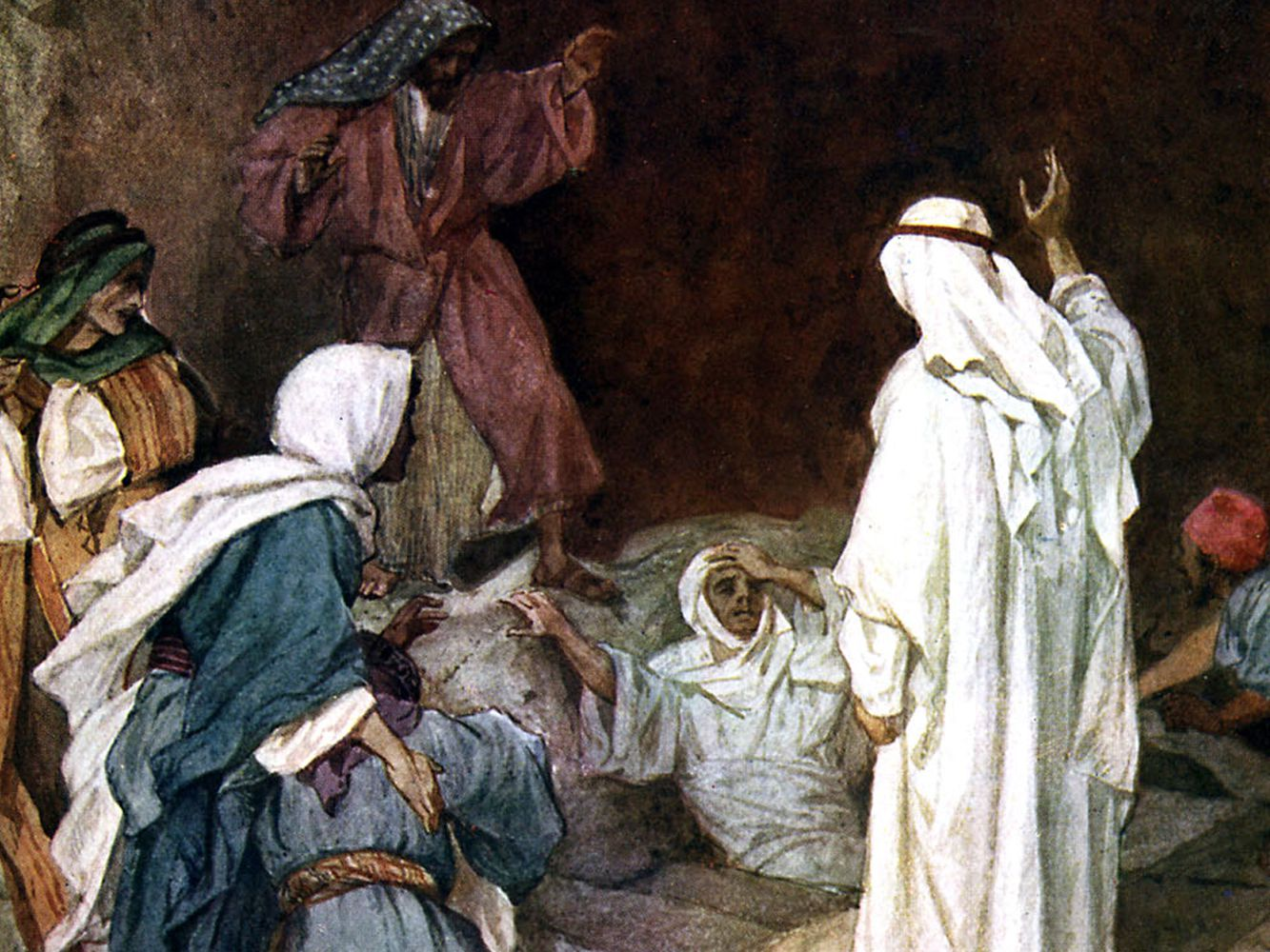 The Story of Lazarus Bible Study Guide