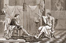 Aristotle Teaches Alexander The Great