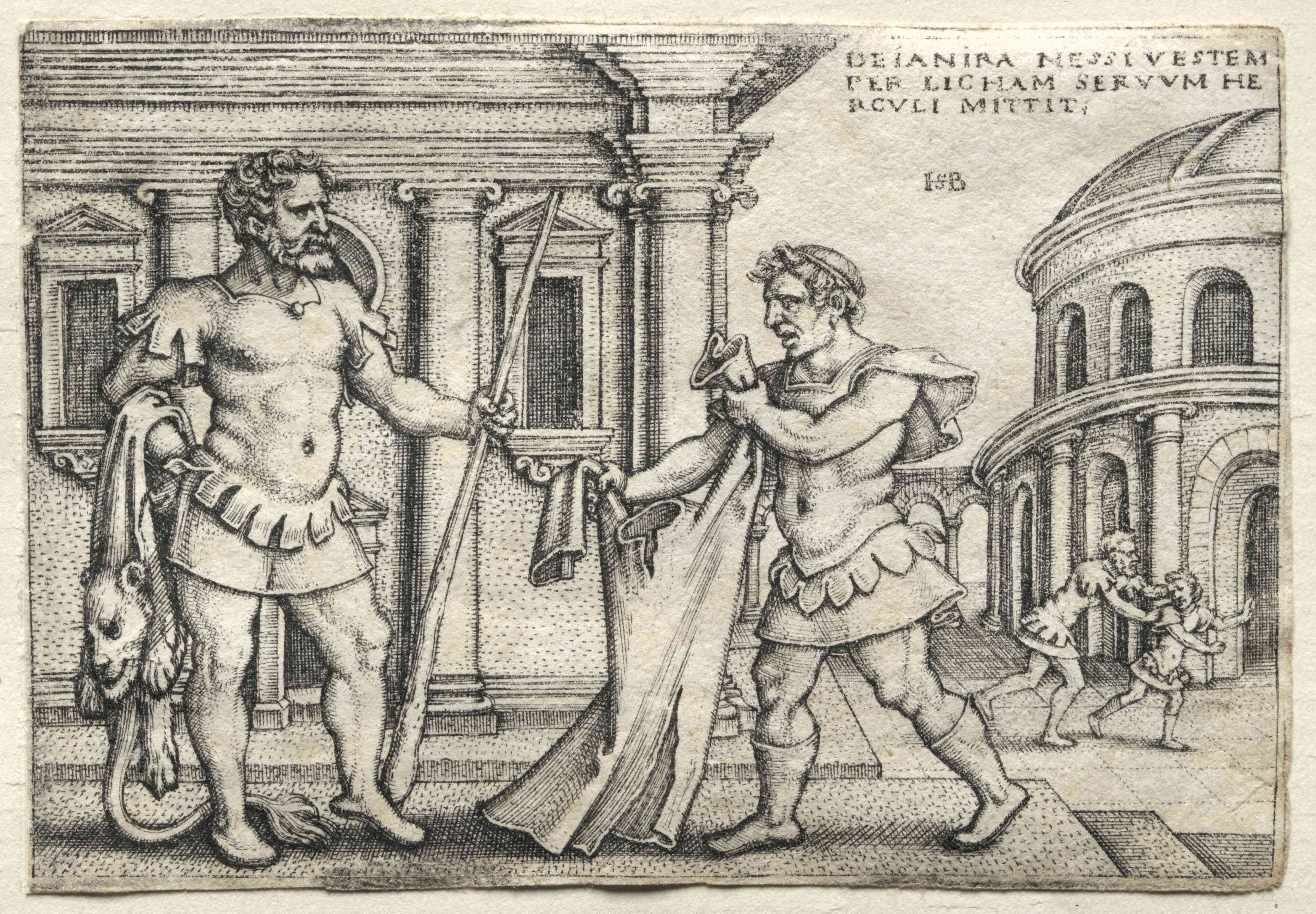 The Labors Of Hercules: Hercules Receiving The Garment Steeped In Nessus Blood