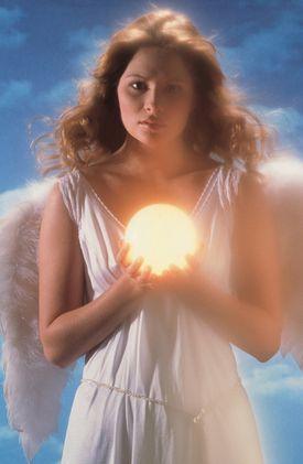 beautiful angel Archangel Jophiel beauty orb