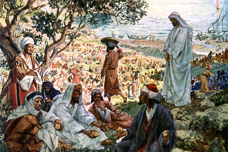 Jesus Feeds 5,000.