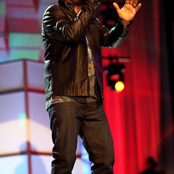 Singer J. Moss performs during the Allstate Gospel SuperFest 2015