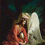 Christ in Gethsemane by Carl Bloch