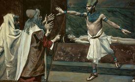 King Pharaoh and Dead Son