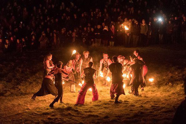 The Annual Beltane Festival At Calton Hill, Edinburgh