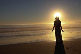 angel halo beach Ariel