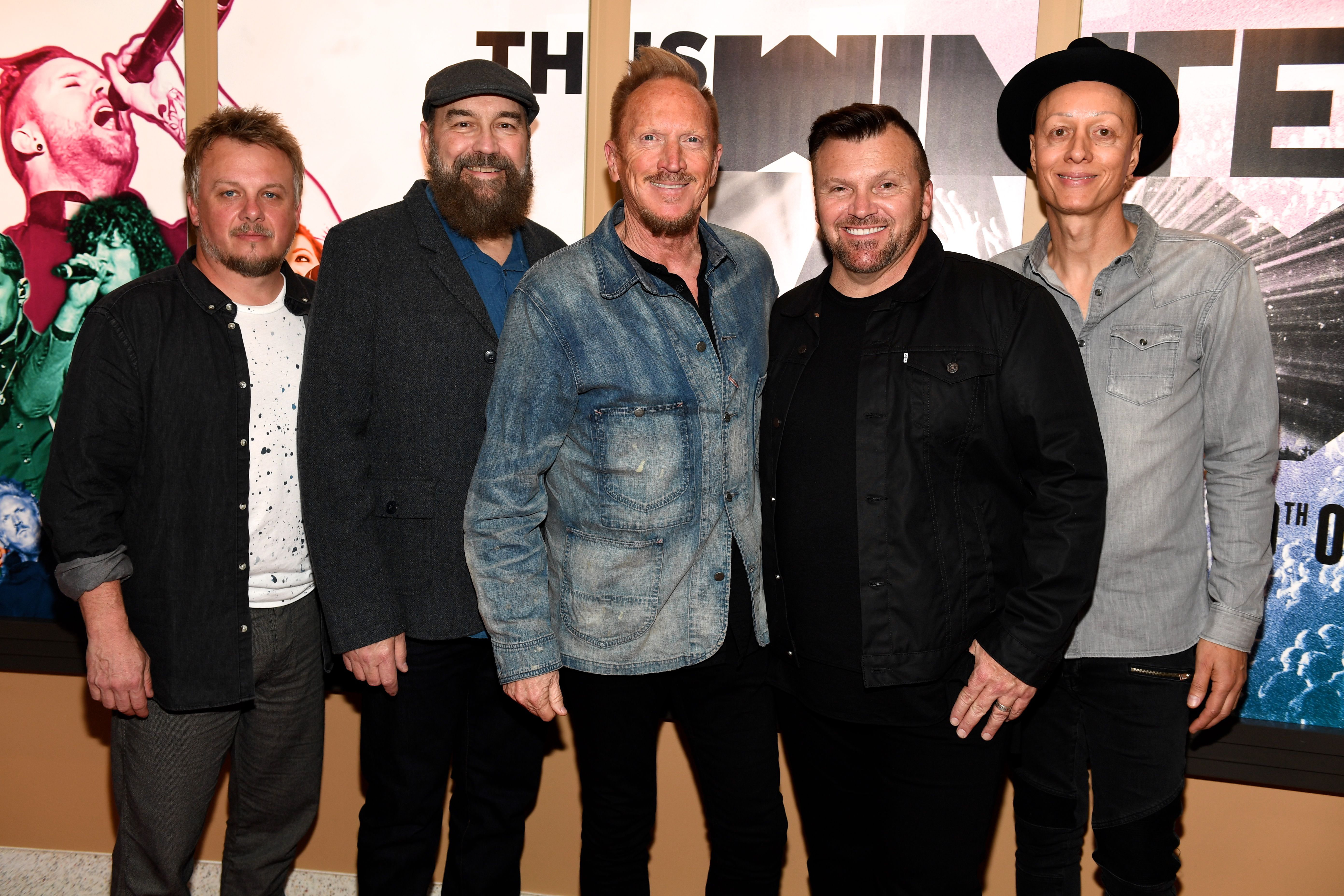 Newsong at 'This Is Winter Jam' Nashville Red Carpet Premiere