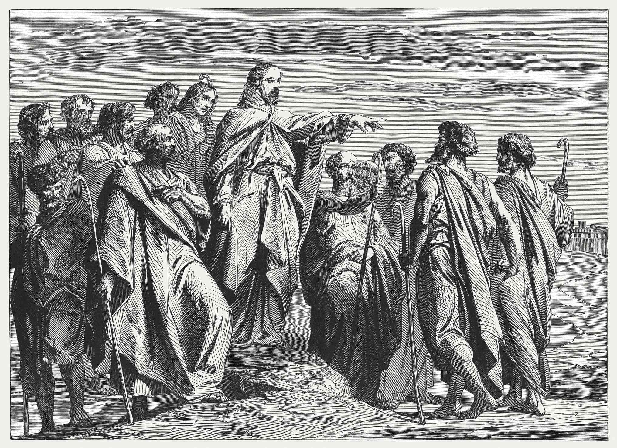 Jesus Sends Out the Twelve Apostles