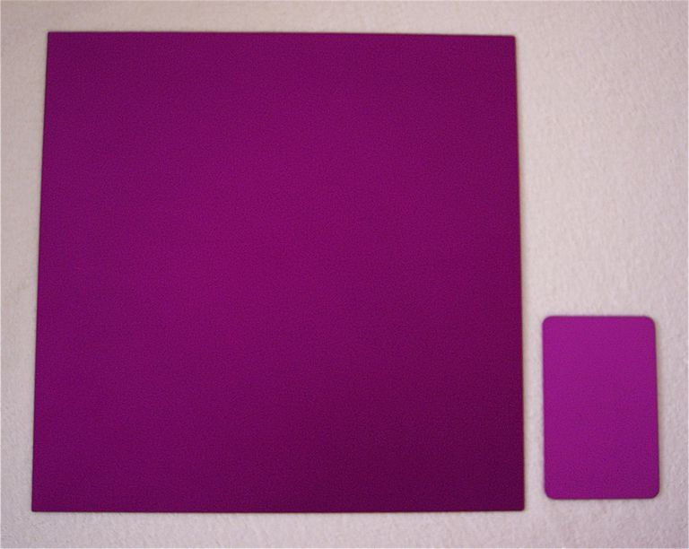 Purple Harmony Plates