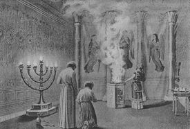 Shekinah Glory Enters the Tabernacle