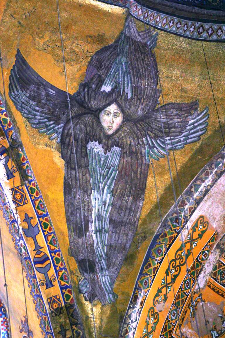 painting of archangel seraphiel