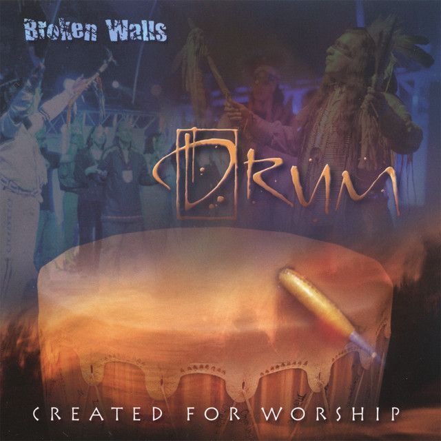 Album cover of Created for Worship by Broken Walls