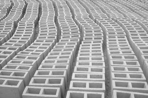 Large Group Of Concrete Blocks