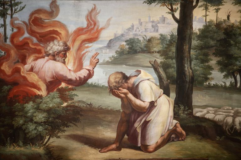 Moses and the Burning Bush - Bible Story Study Guide