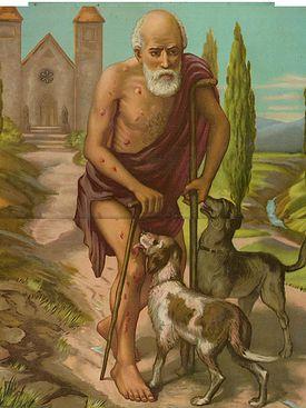 Bible angels Lazarus rich man