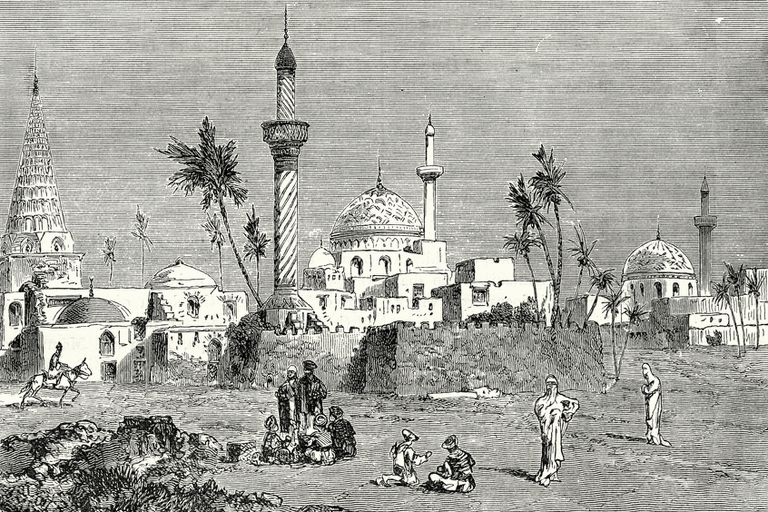 Baghdad, Iraq, 19th Century