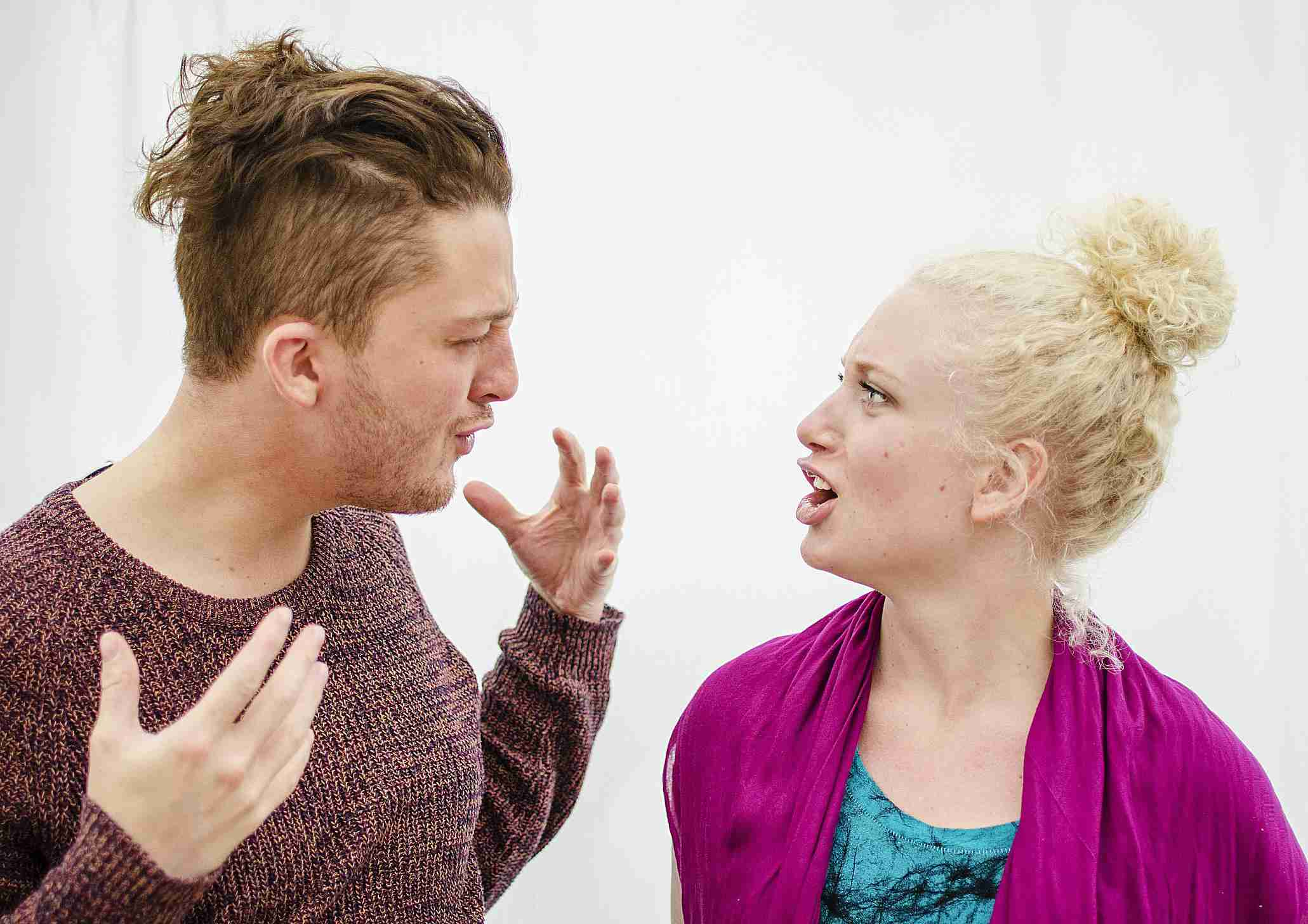 Man and Woman Arguing