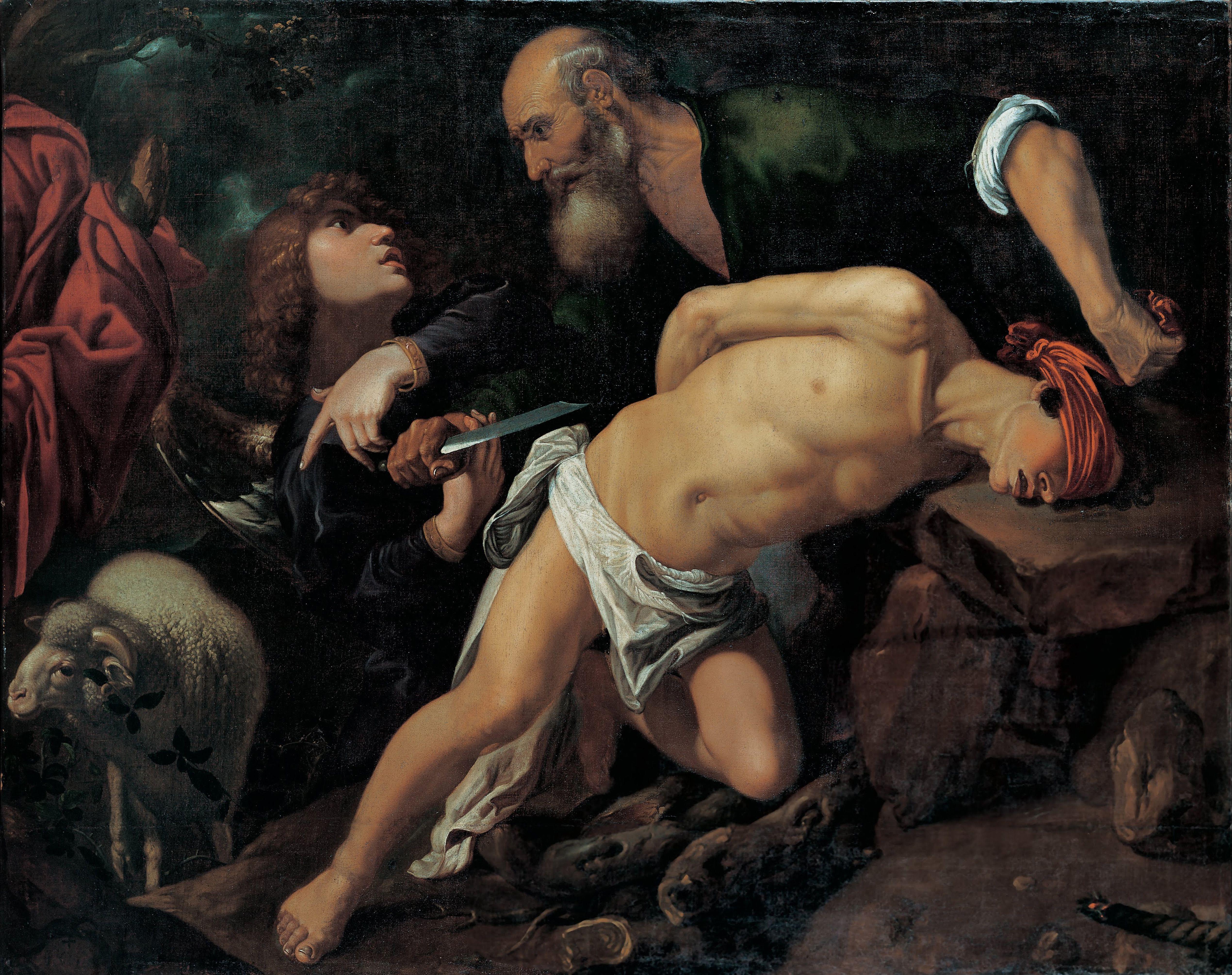 The Sacrifice of Isaac, c. 1615. Artist: Orrente, Pedro (1588-1645)
