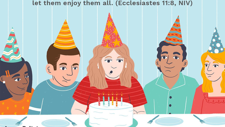 10 Bible Verses for Birthday Celebrations