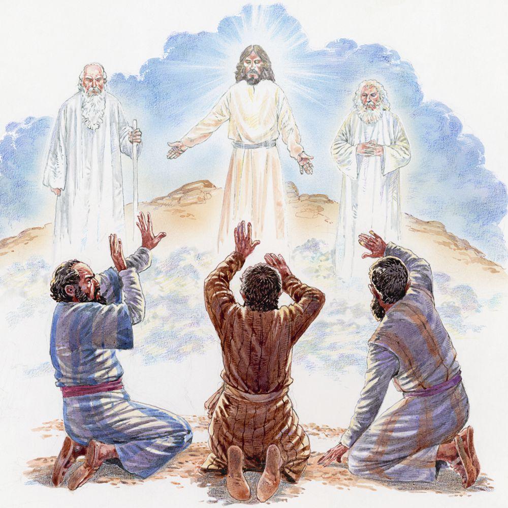Jesus' Transfiguration Bible Story Study Guide