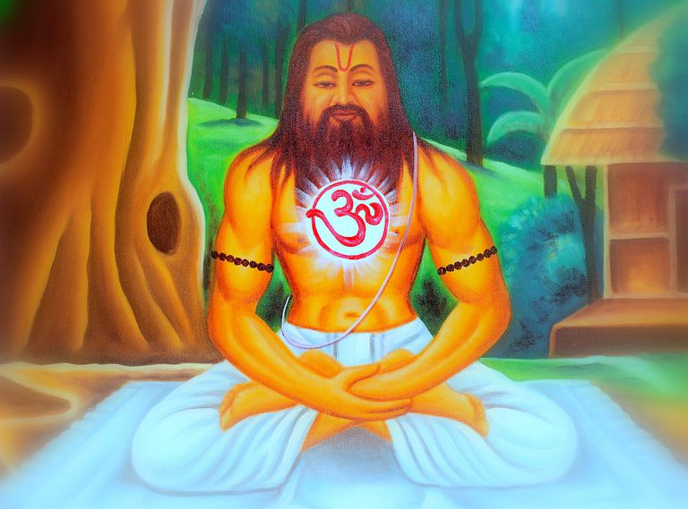 Om rests in the soul of the Siddhas