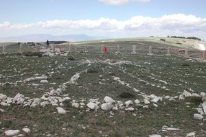 The Bighorn Medicine Wheel in Powell, Wyoming, is one of the oldest known stone circles in North America. While no one knows exactly who built it or when, it is known as a place of great power and spiritual magic.