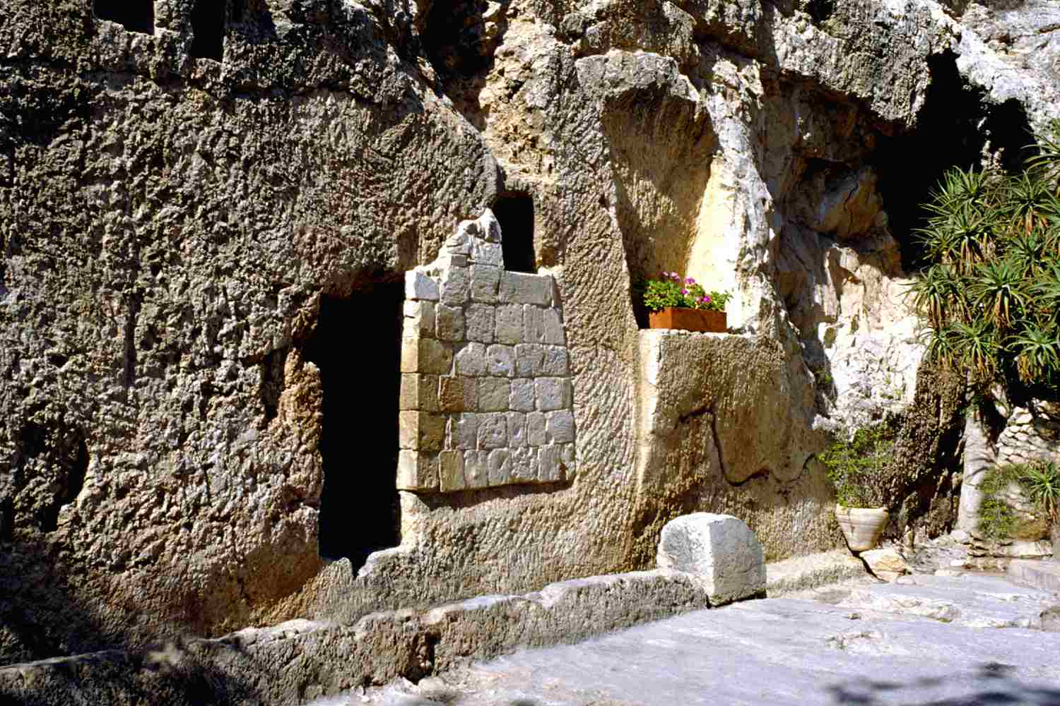 The Garden Tomb in Jerusalem, believed to be the burial place of Jesus