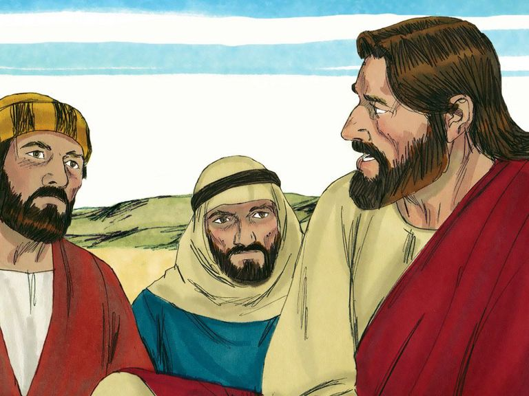 Jesus, James, and John