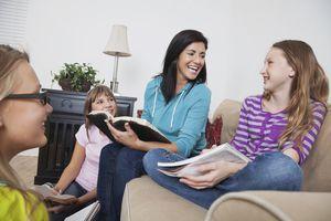 Reading devotionals