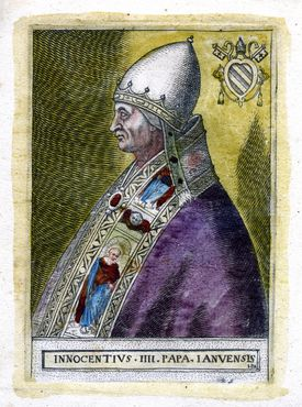 Pope Innocent IV. The Pope is the Bishop of Rome