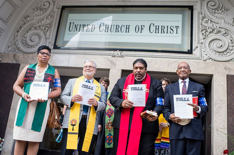 Faith leaders unite at United Church of Christ
