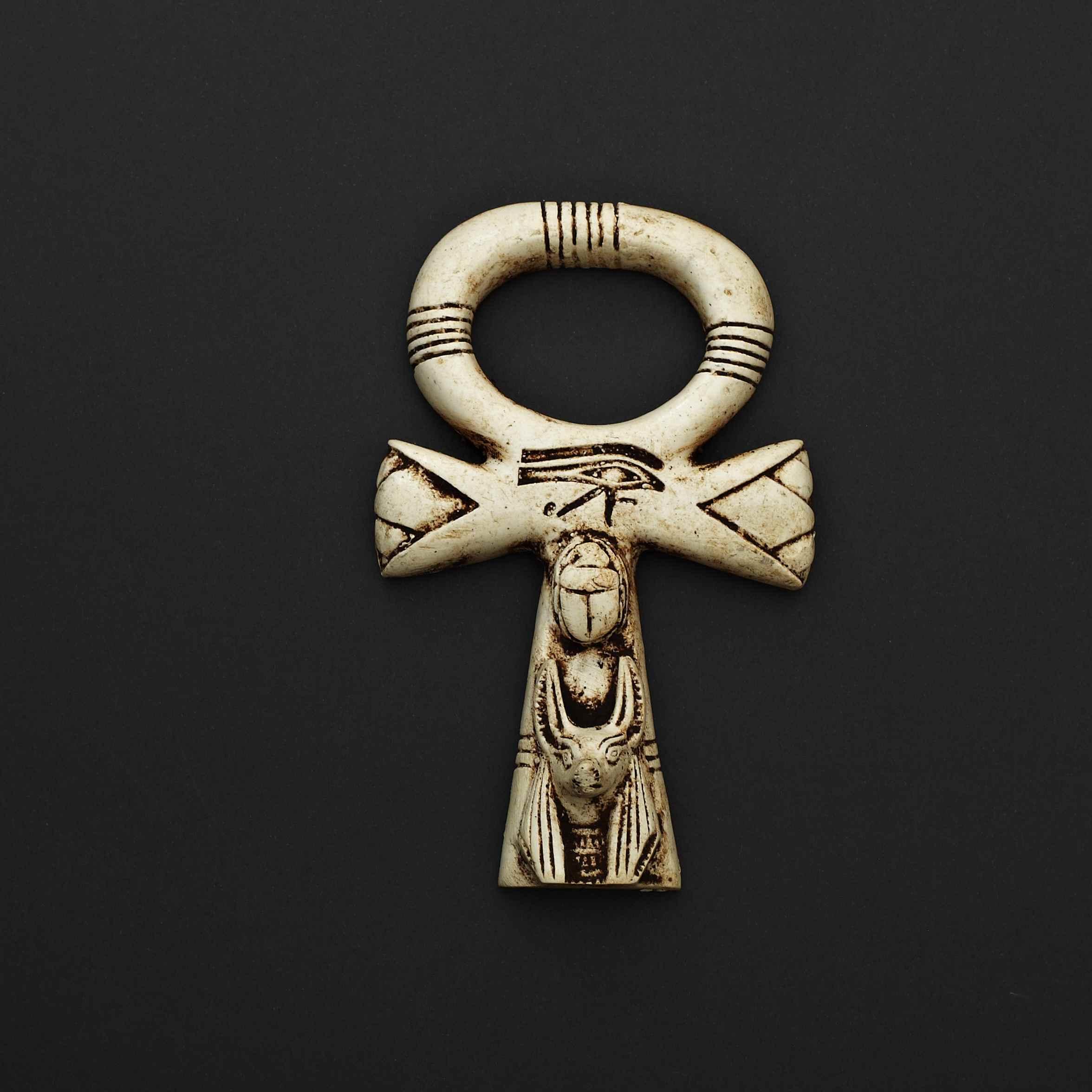 Ankh with Eye of Horus