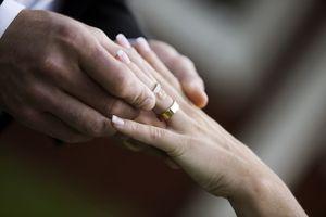Exchanging Rings at a Wedding