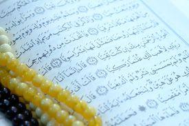 Reading Quran on ramadan,