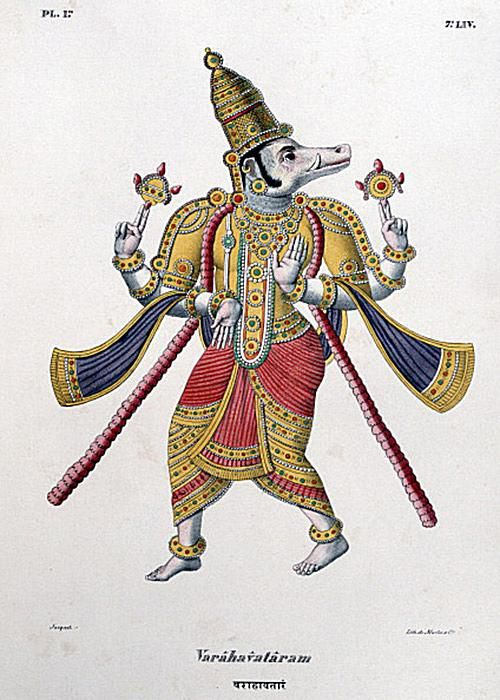 Varaha (the boar) Avatar