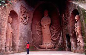 Statues at Leshan, China