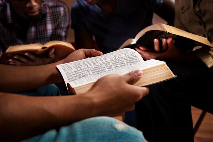 reading the bible in a study group