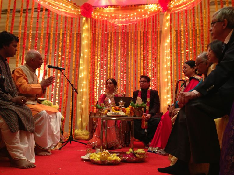 An Indian Arya Samaj wedding