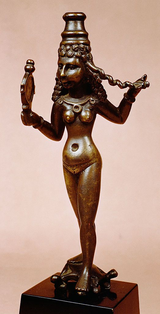 Parthian Bronze Sculpture of Astarte