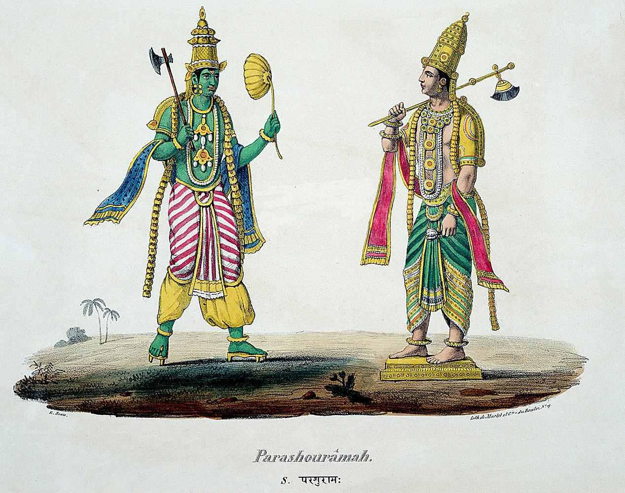Parasurama, the priest avatar of Vishnu