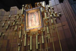Shrine of Mary Guadalupe Mexico