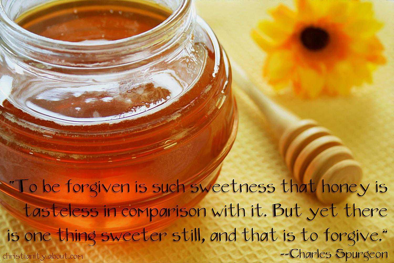 Forgiveness Tastes Sweet