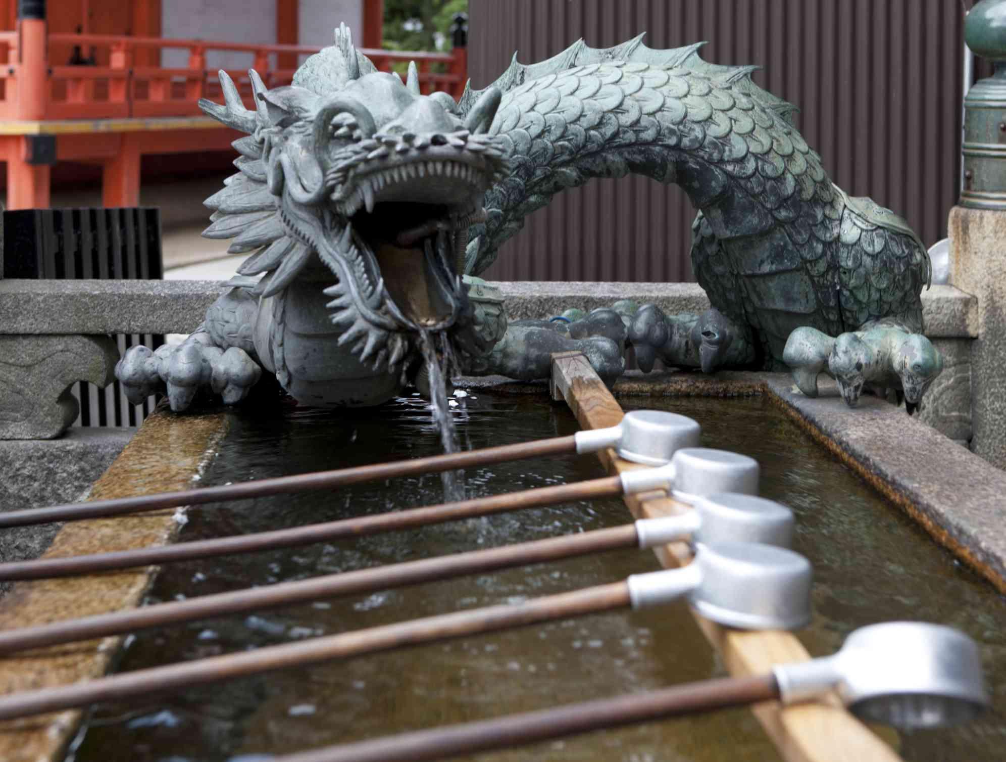Dragon Water Spout