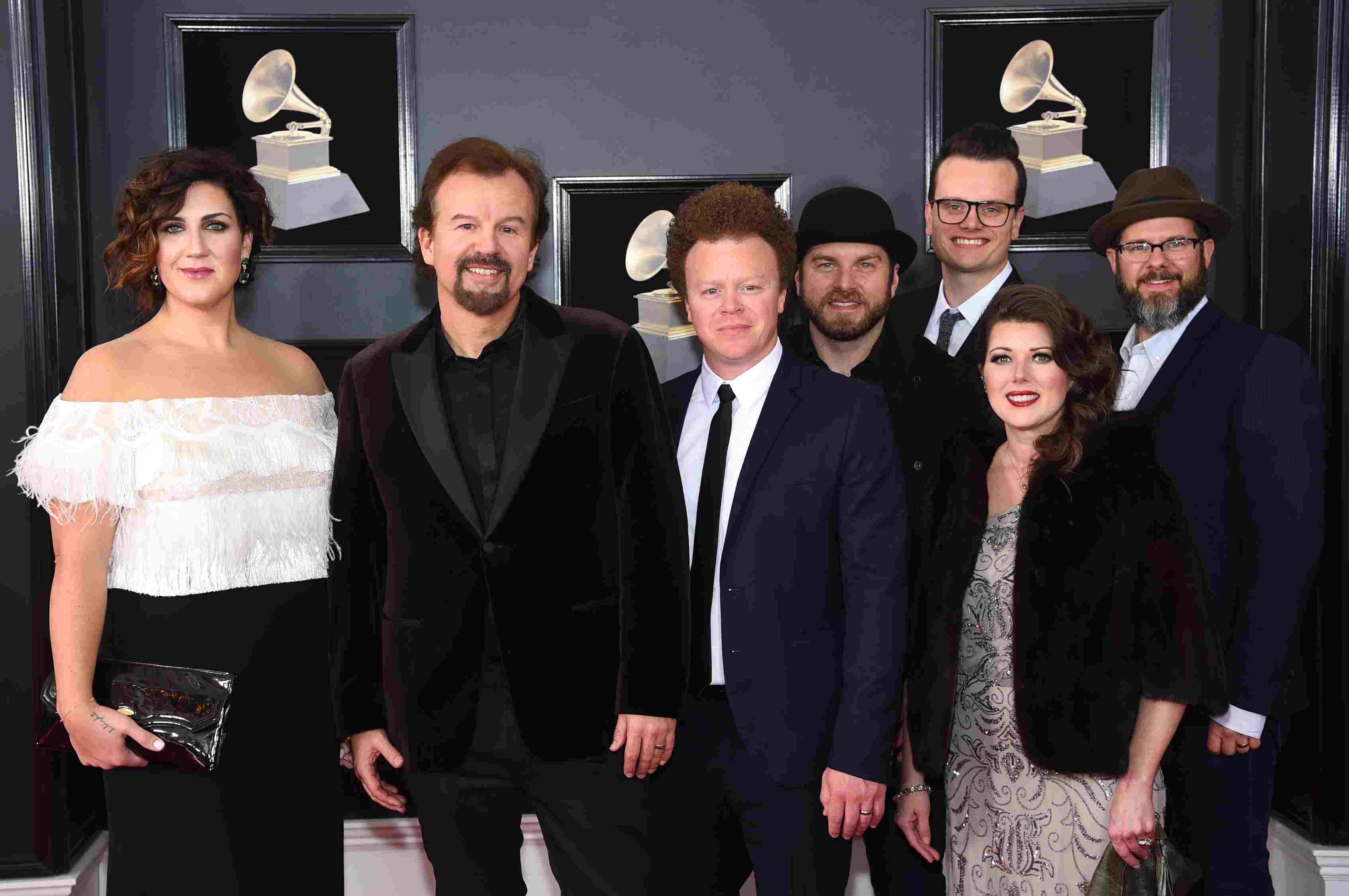Casting Crowns at 60th Annual GRAMMY Awards