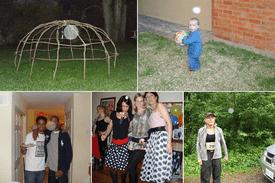 Collage of Spirit Orb Photos